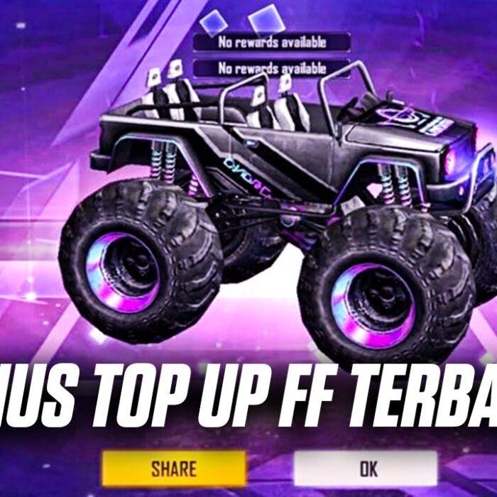 top up ff Monster Truck Cyber Bounty Hunter