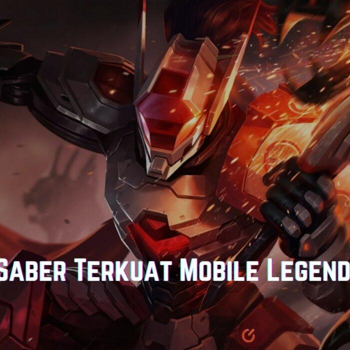 Build Saber Mobile Legends 2021