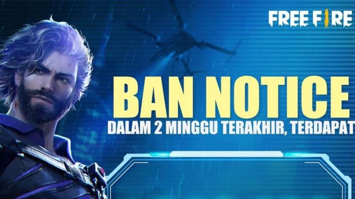 akun free fire banned juli 2021