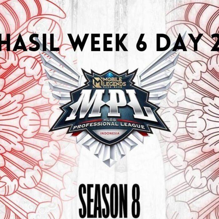 Hasil MPL ID Season 8 Week 6 Day 2